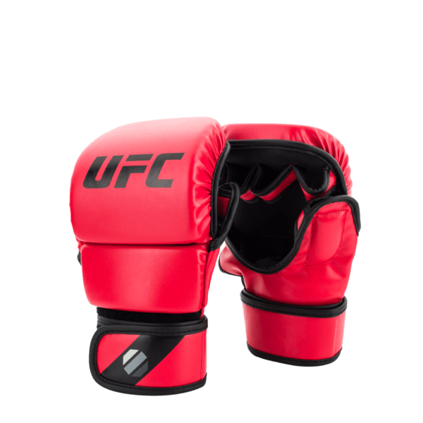 UFC MMA 8oz Sparring Gloves Red