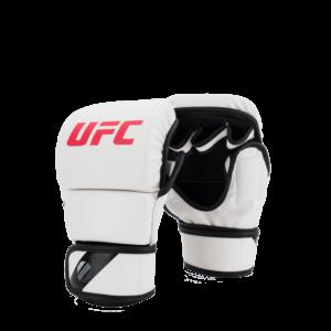UFC MMA 8oz Sparring Gloves White