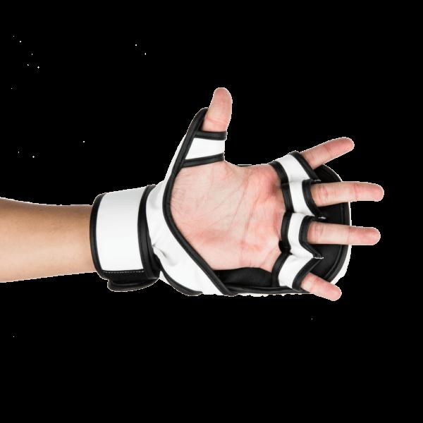 UFC MMA 8oz Sparring Gloves White Bottom