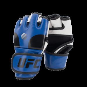 UFC Open Palm MMA Gloves Blue