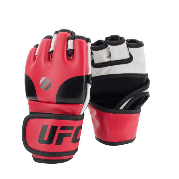 UFC Open Palm MMA Gloves Red