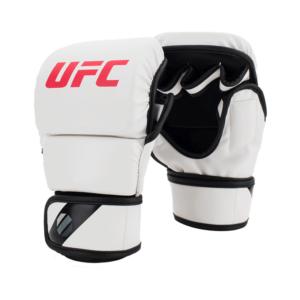 UFC Contender MMA 8oz Sparring Gloves White sizes Small Medium Large Extra Large