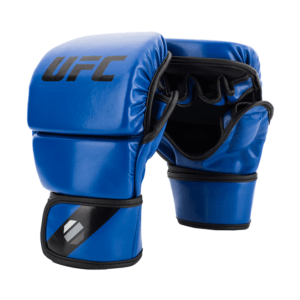 UFC Contender MMA 8oz Sparring Gloves Blue sizes Small Medium Large Extra Large