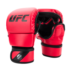 UFC Contender MMA 8oz Sparring Gloves Red sizes Small Medium Large Extra Large